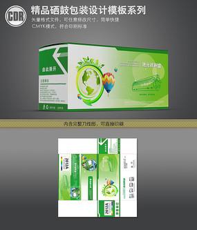绿色打印机硒鼓彩盒