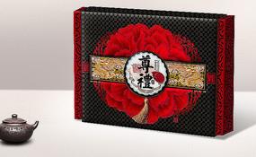 荣华富贵月饼礼盒包装 PSD