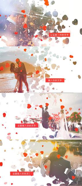 婚礼婚庆婚纱照片相册AE模板