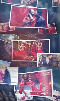 婚礼写真相册AE模板