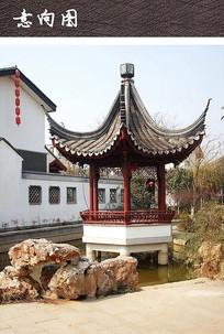 水榭景观亭