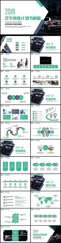 汽车商业计划书融资创业PPT