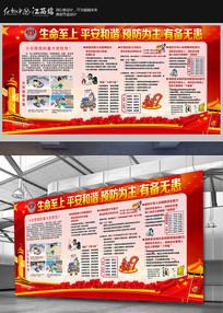 消防安全知识展板下载