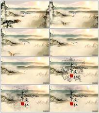 中国风文化古典水墨视频模板