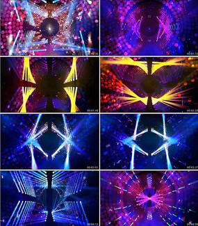 超级动感开场秀灯光舞台背景