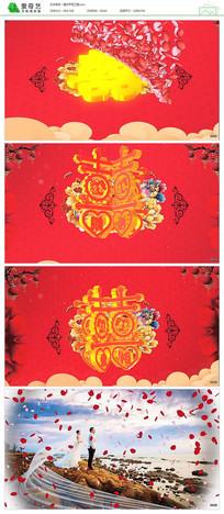 汉式婚礼开场绘声绘影模板