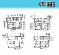 室内装修布置CAD