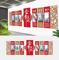中式企业精神文化墙