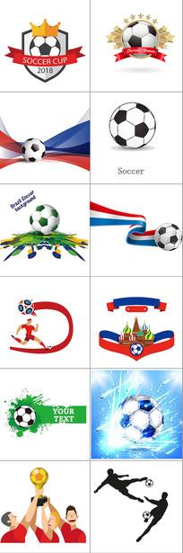 足球世界杯素材