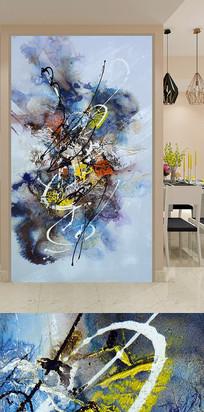 客厅卧室抽象玄关装饰画