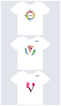 衣服T恤图形设计
