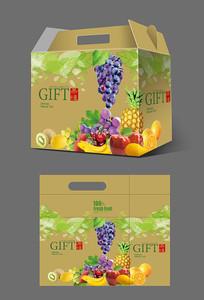 牛皮纸水果包装设计