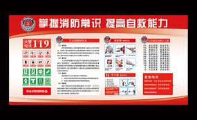 消防安全知识普及宣传栏板报
