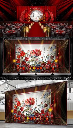 中国红色主题婚礼