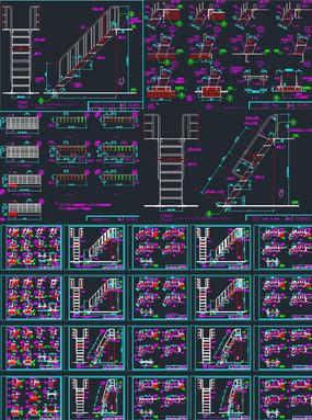 钢楼梯设计CAD