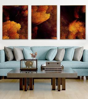 抽象北欧客厅装饰画