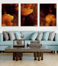 抽象北歐客廳裝飾畫