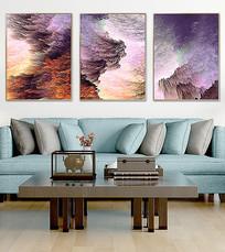 复古客厅装饰画