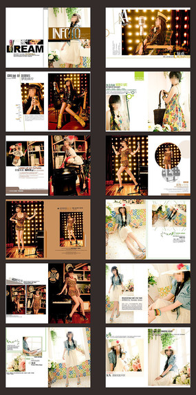 个人写真相册设计