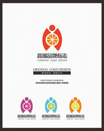 橙子橙品牌产品标志设计