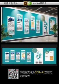 大气精品企业形象墙文化墙