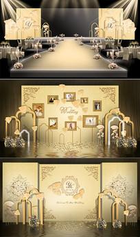 大屏主题婚礼