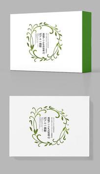 创意绿色礼盒包装设计