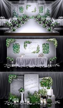 清新森系主题婚礼