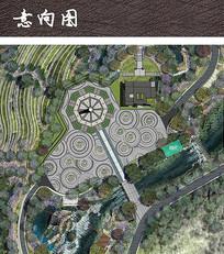 八正道廣場平面圖