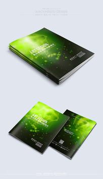 绿色温馨时尚封面素材