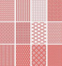 现代几何纹底纹图案