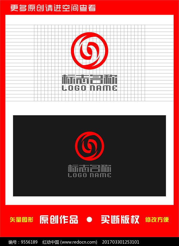 S旋转标志金融logo图片
