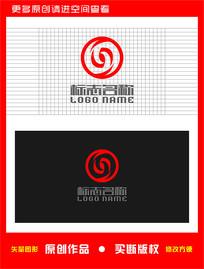 S旋转标志金融logo