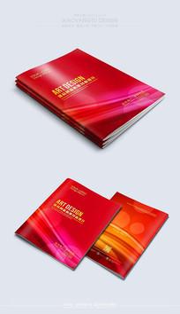 红色创意大气封面素材