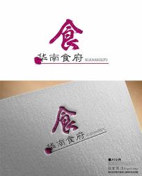 华南食府饭店logo