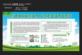 国际卫生城市文明城市宣传栏