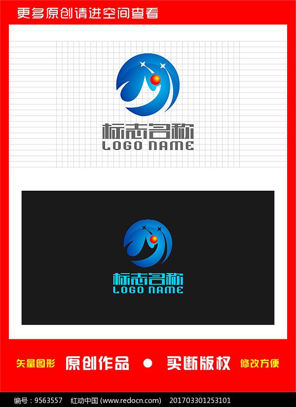 M字母标志运动健身logo图片