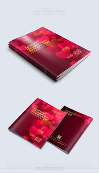 红色喜庆精美婚庆封面素材