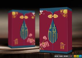 创意高端中式月饼礼盒 PSD