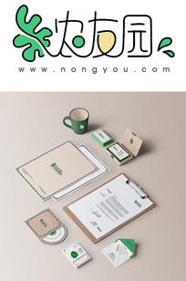 互联网农业电商平台LOGO