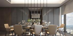 欧式古典风格餐厅