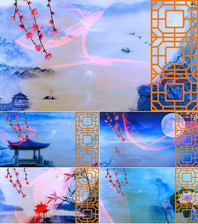 乐曲红颜旧舞台背景视频