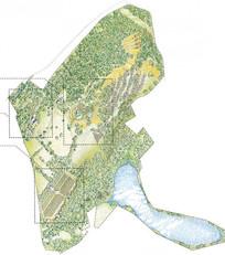 生态农场景观平面图