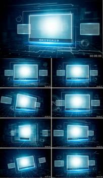 图文展示科技ae模板
