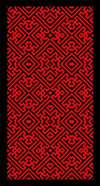 传统纹饰万字纹