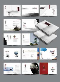 大气水墨中国风画册设计