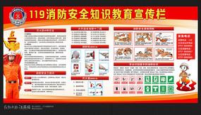校园消防安全知识宣传展板
