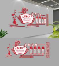 中式古典中医文化墙设计