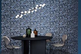 花墙壁元素喝茶桌