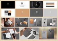 灰色质感企业VI设计